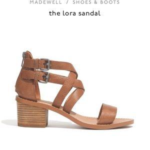 Madewell lora sandals